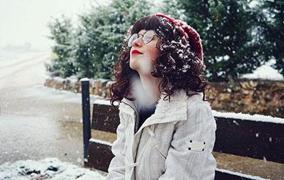 woman eyeglasses