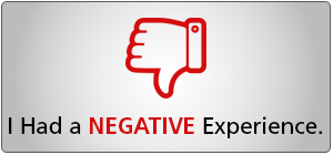 negative experience